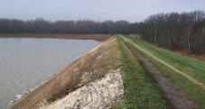 vidange plan d'eau de Tuilerie pour VNF